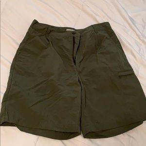 Royal Robbins green shorts